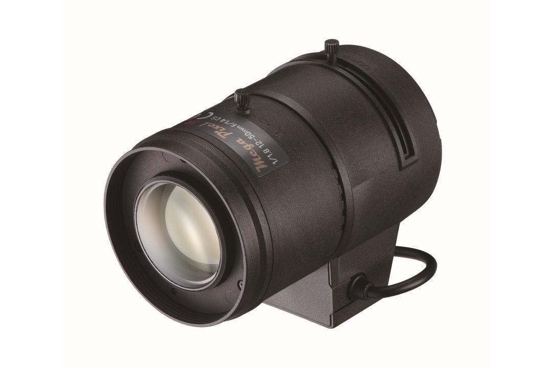 12 to 50 mm IR-Corrected CCTV Lens with Auto-P-Iris and CS-Mount