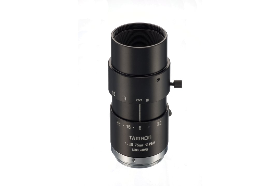 Tried and true 75 mm Machine Vision Lens for 2/3-inch Imagers