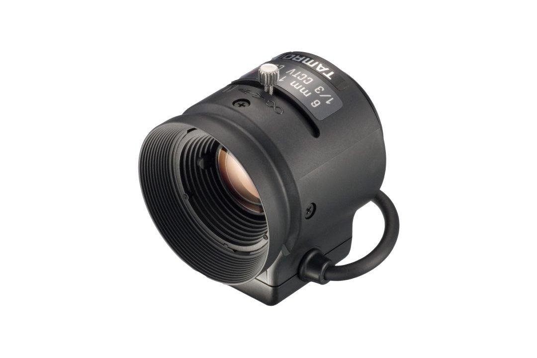 6 mm IR-Corrected CCTV Lens with DC Auto-Iris and CS-Mount