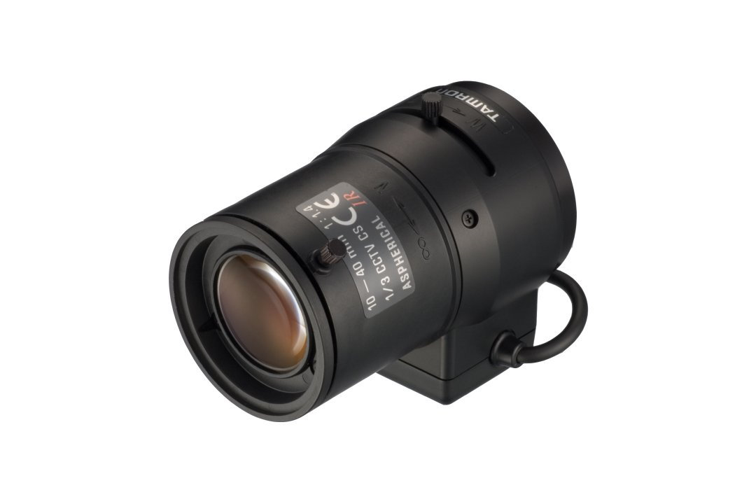 High Resolution Lens - Compact 4x Vari-Focal D/N Lens - Incorporates Aspherical Element - No focus shift between day and IR light