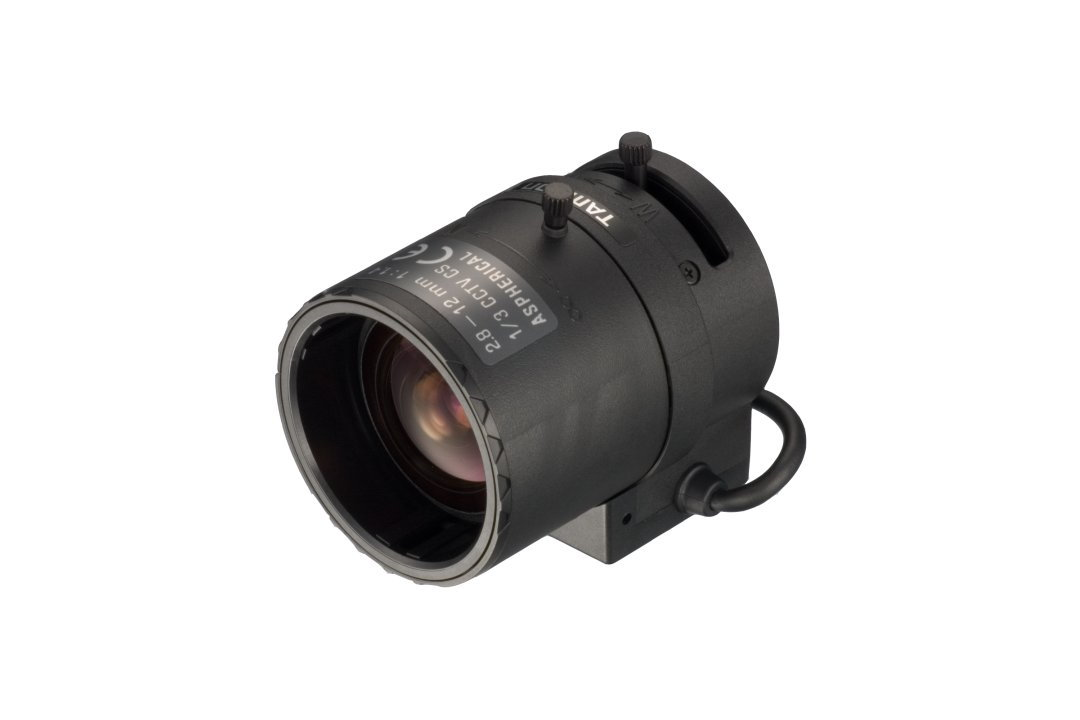 2.8 to 12 mm IR-Corrected CCTV Lens with DC Auto-Iris and CS-Mount