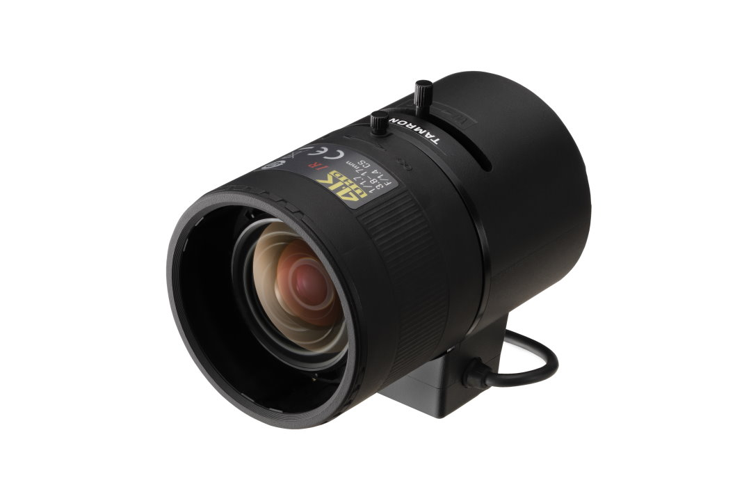 3.8 to 17 mm IR-Corrected CCTV Lens with DC Auto-Iris and CS-Mount