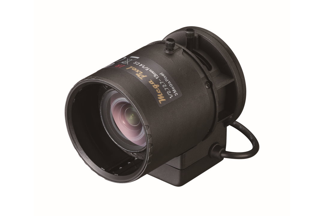 2.7 to 13 mm IR-Corrected CCTV Lens with DC Auto-Iris and CS-Mount