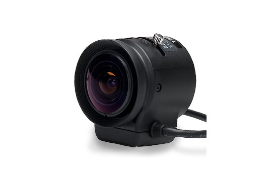 2.2 mm IR-Corrected CCTV Lens with DC Auto-Iris and CS-Mount