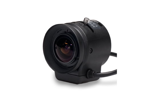 2.8 mm IR-Corrected CCTV Lens with DC Auto-Iris and CS-Mount