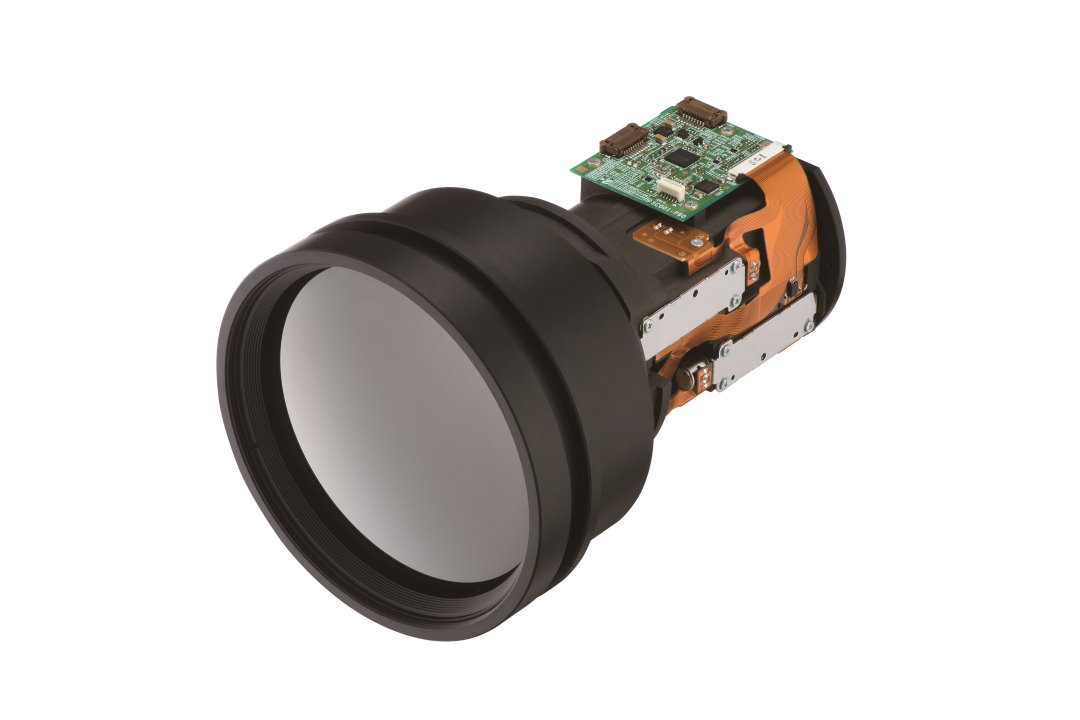 50 - 150 mm Thermal Imaging Lens with internal focussing system