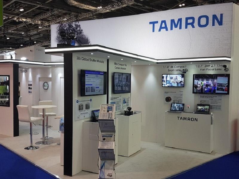 Tamron trade fair event